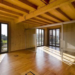 pannello per pavimento sopraelevato in legno / antiscivolo / da interno