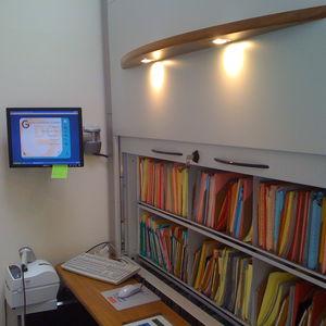 scaffalatura per stoccaggio / per ufficio / per archivio / standard