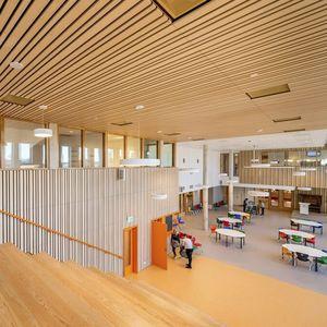 soffitto in legno con vernice di protezione