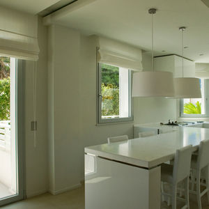 finestra a battente / basculante / ad anta ribalta / in alluminio