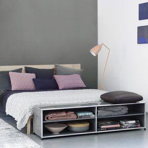 scaffale basso / moderno / in MDF laccato / per camera da letto