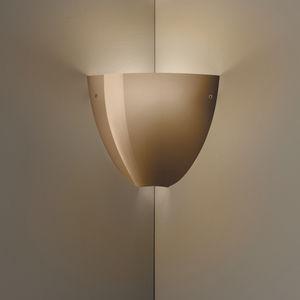 applique moderna / in vetro soffiato / a incandescenza / IP20
