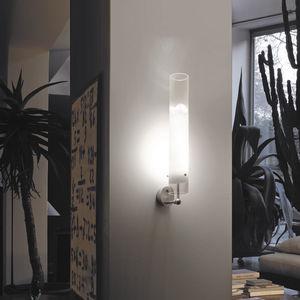 applique moderna / in vetro / LED / tonda