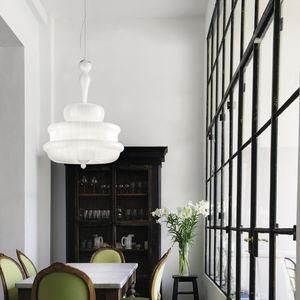 lampadario classico / in vetro di Murano / a incandescenza