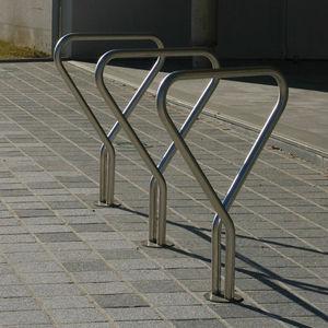rastrelliera per biciclette in acciaio inossidabile