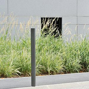 colonna di protezione / in acciaio con rivestimento a polvere / in acciaio inossidabile lucido / fissa
