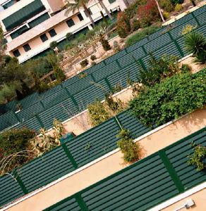 recinzione da giardino / a pannelli / in alluminio / paravista