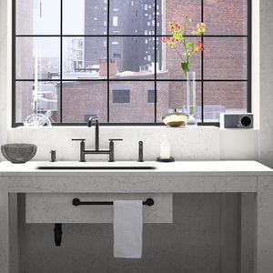 piano lavabo in Silestone®