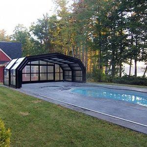 copertura per piscina retrattile