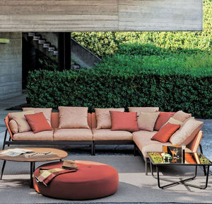 divano da giardino / modulare / moderno / per zona reception