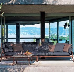 divano da esterno / modulare / d'angolo / moderno