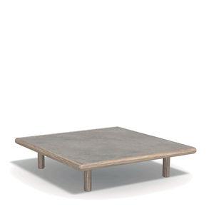 tavolino basso moderno / in legno / in marmo / in pietra naturale