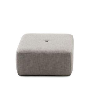 pouf moderno / in rete / in tessuto acrilico / in tessuto sintetico