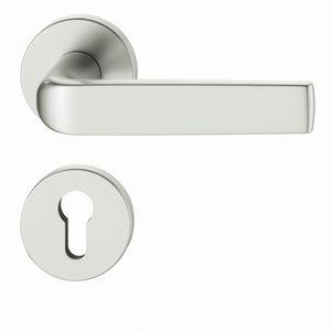 maniglia per porta / in alluminio / in bronzo / in ottone