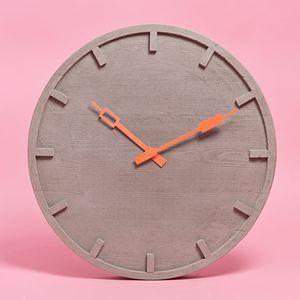 orologi moderni / analogici / a muro / in calcestruzzo