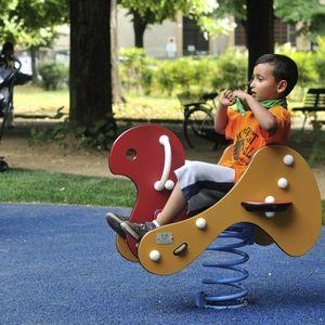 gioco a molla in HDPE