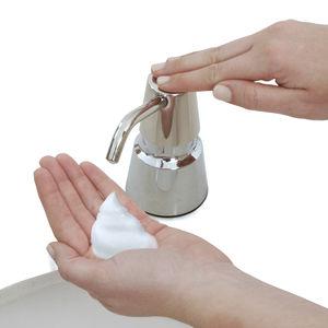 distributore di sapone contract / da incasso / in ABS / in cromo