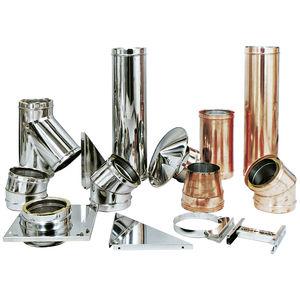 canna fumaria in acciaio inox / in rame / sistema completo