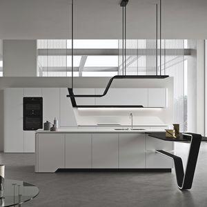cucina moderna / in marmo / in quarzo / in granito