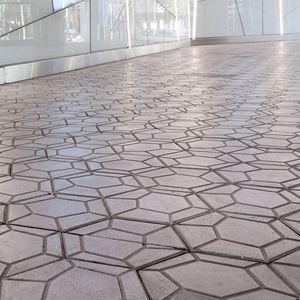 pavimentazione in calcestruzzo / per pedoni / per spazio pubblico / da esterno