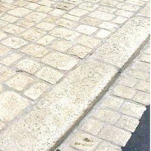 rampa carrabile per marciapiede