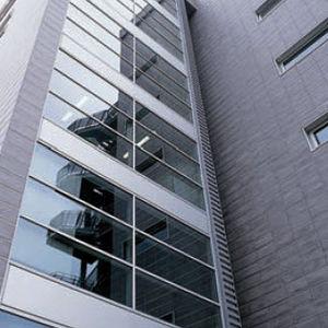 facciata ventilata in gres porcellanato