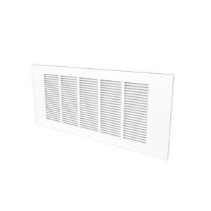 griglia di ventilazione in acciaio / rettangolare / quadrata / per il soffiaggio e la ripresa d'aria