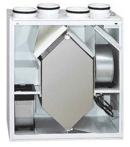 unità di ventilazione a doppio flusso / centralizzato / termodinamico / per appartamento