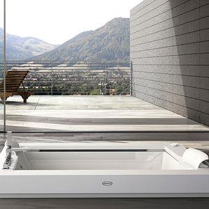 vasca da bagno in Corian®