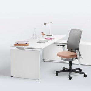 scrivania direzionale / impiallacciata in legno / moderna / contract