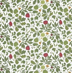 tessuto per tende / a fiori / in cotone / organico