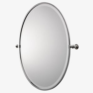 specchio da bagno a muro / basculante / classico / ovale
