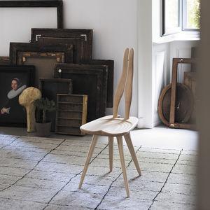 sedia design originale / in acero / nera / colore personalizzabile