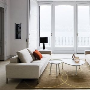 divano modulare / moderno / in tessuto / in pelle