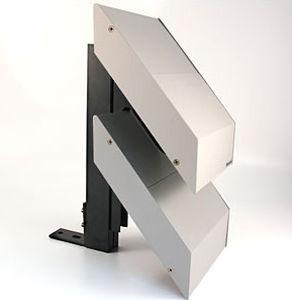 rivestimento di facciata in fogli / in alluminio / in gesso / perforato