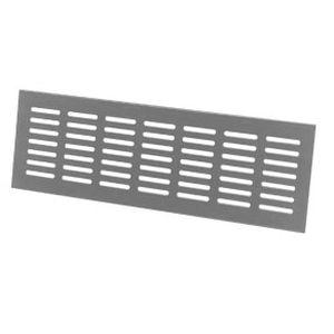 griglia di ventilazione in alluminio / lineare / per facciate / per porta