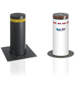 colonna di controllo accessi / in acciaio inossidabile / a scomparsa / automatica