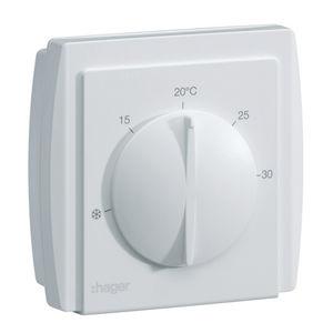 termostato d'ambiente / a muro / per riscaldamento