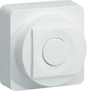dimmer per illuminazione / per sistema domotico / con interruttore a pulsante / non incassato
