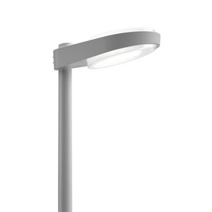 lampione urbano / moderno / in ghisa di alluminio / in policarbonato