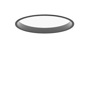 plafoniera moderna / tonda / in alluminio / in acrilico