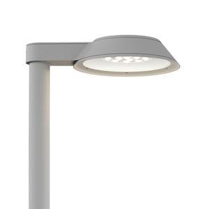 lampione urbano / moderno / in acciaio inossidabile / in vetro