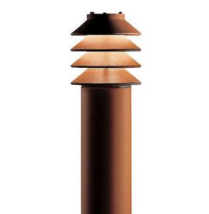 lampioncino moderno / in acciaio / LED / IP44