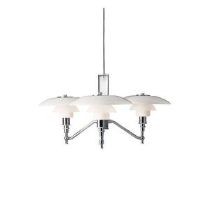 lampadario moderno / in vetro / in ottone / in cromo