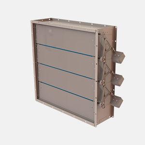 serranda di areazione in acciaio galvanizzato