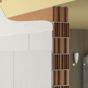 isolante acustico / per muro / in pannelli / riciclabile