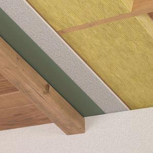 isolante termo-acustico / in fibra di legno / per tetto / in pannelli