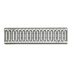 griglia per canaletta in acciaio inox / in acciaio galvanizzato / per ghisa / per piscina