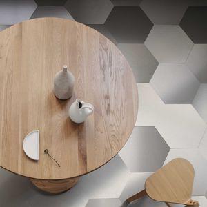 piastrelle esagonali da interno / da parete / da pavimento / in acciaio