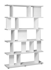 libreria moderna / per ufficio / in quercia / in legno massiccio